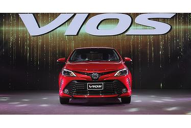Launching event of Toyota Vios in Thailand