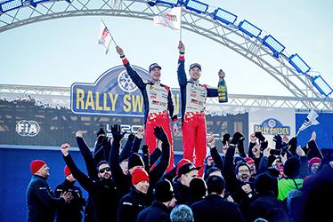 【ドライバー】ミーカ・アンティラ/ヤリ-マティ・ラトバラ 2017 WRC Round 2 RALLY SWEDEN