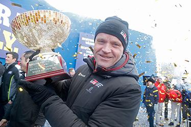 【チーム代表】トミ・マキネン 2017 WRC Round 2 RALLY SWEDEN