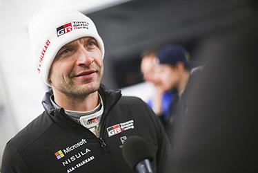 【ドライバー】ユホ・ハンニネン 2017 WRC Round 2 RALLY SWEDEN