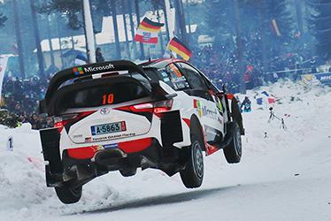 2017 WRC Round 2 RALLY SWEDEN