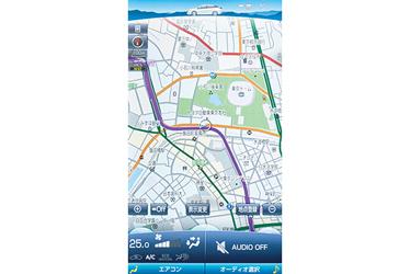 11.6インチT-Connect SDナビゲーションシステム (地図全画面表示)