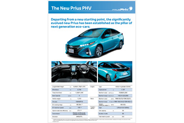 Prius PHV Panel