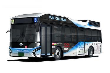 Toyota FC Bus (modified for Toei route bus)