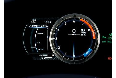 エコドライブ インジケーターゾーン表示 (LC500全車)