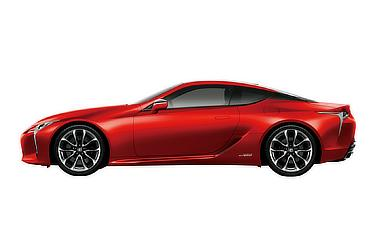 """LC500h""""S package"""" (ラディアントレッドコントラストレイヤリング) 〈オプション装着車〉"""