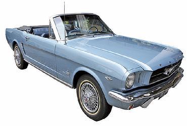 記念撮影車(フォード マスタング コンバーチブル)