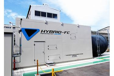 Toyota Starts Trial of a Hybrid Power Generation System