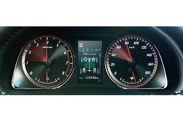 オプティトロンメーター (ターボ4WD車)