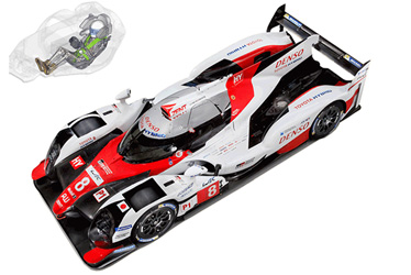 THUMS model for FIA World Endurance Championship in TS050