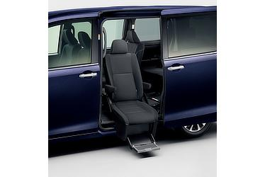 ウェルキャブ サイドリフトアップチルトシート車 Xi (2WD) (ブラッキッシュアゲハガラスフレーク) 〈オプション装着車〉