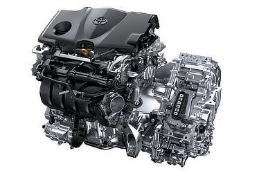 2.5L A25A-FXSエンジン+モーター