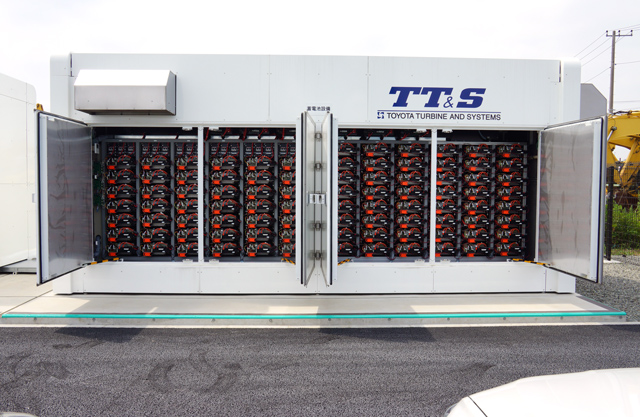 Storage Battery System (Toyota Turbine and Systems Inc.)