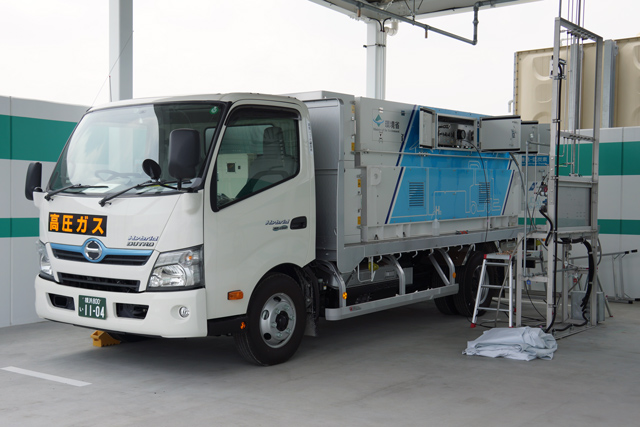 Hydrogen Fueling Truck (Iwatani Corporation)