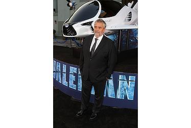 Luc Besson at VALERIAN LA Premiere