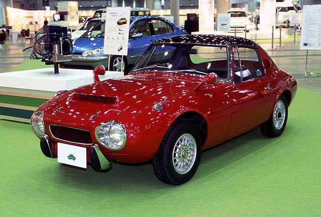 Toyota Sports 800 Gas Turbine Hybrid concept vehicle