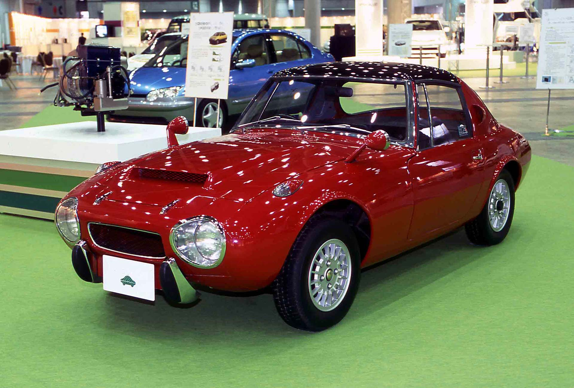 Toyota Sports 800 Gas Turbine Hybrid concept vehicle
