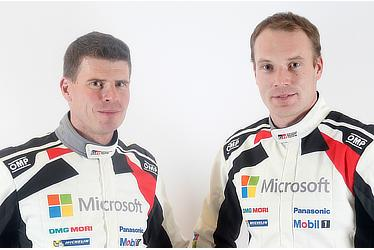 Miikka Anttila and Jari-Matti Latvala