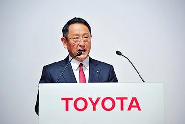 Toyota President and CEO Akio Toyoda