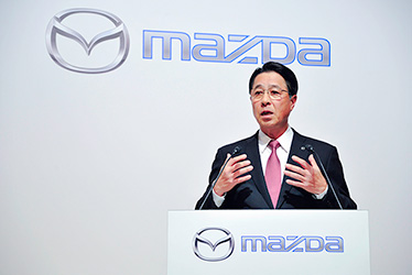 Mazda President and CEO Masamichi Kogai