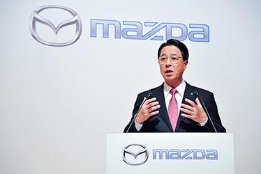 Mazda President and CEO Masamichi Kogai