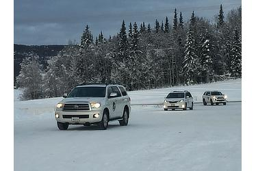 2015 driving project in North America (Alaska)
