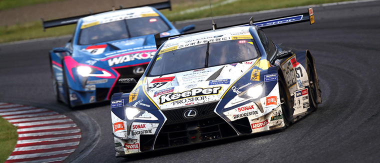 2017年残り2戦をチームランキング2位で迎えるLEXUS TEAM KeePer TOM'S 37号車と4位のLEXUS TEAM LEMANS WAKO'S 6号車