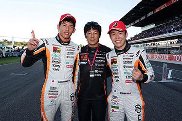 【ドライバー】中山 雄一/【監督】影山 正彦/【ドライバー】坪井 翔 SUPER GT 第7戦 タイ Chang SUPER GT RACE