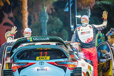 【ドライバー】ユホ・ハンニネン/カイ・リンドストローム 2017 WRC Round 11 RALLY DE ESPAÑA