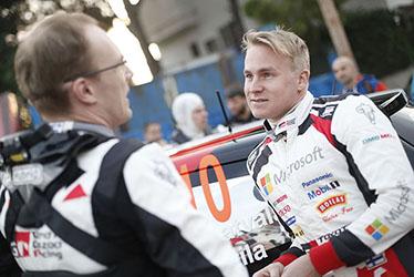 【ドライバー】エサペッカ・ラッピ 2017 WRC Round 11 RALLY DE ESPAÑA