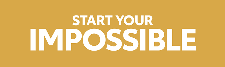 """Start Your Impossible"" logo"