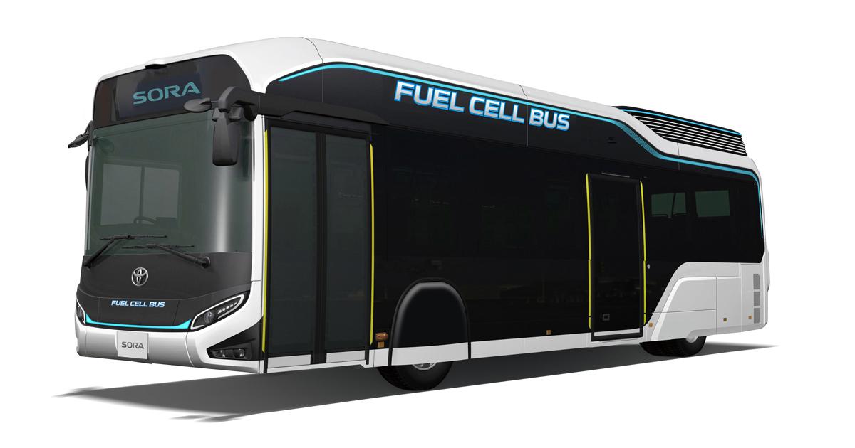 "Toyota Unveils FC Bus Concept ""Sora""   TOYOTA Global Newsroom"