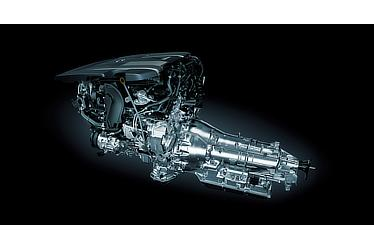 3.5-liter, twin-turbo V6 engine and Direct Shift-10AT