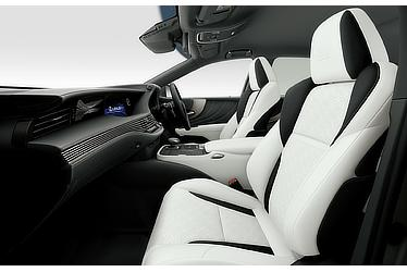 "LS 500h ""F SPORT"" (with ""White"" interior)"