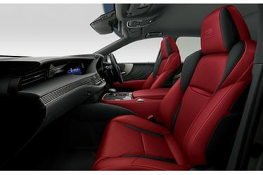 "LS 500h ""F SPORT"" (with ""Flare Red"" interior)"