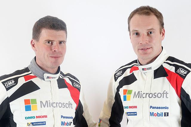 Miikka Anttila and Jari-Matti Latvala