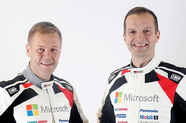 Kaj Lindström and Juho Hänninen