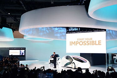 Toyota's Press Conference at the 2017 Tokyo Motor Show