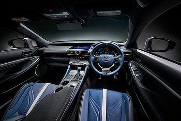 Special-specification, limited-edition RC F