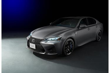 Special-specification, limited-edition GS F