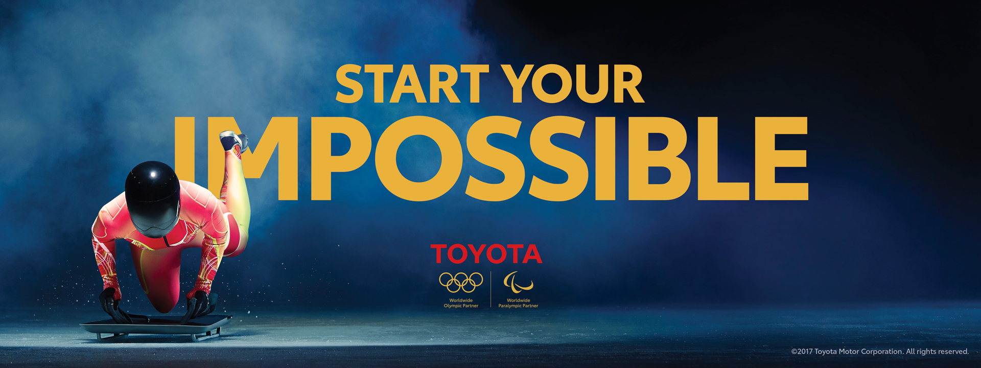 "toyota sets a goal of mobility for all in global ""start your"