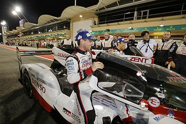 Anthony Davidson / Kazuki Nakajima, driver; 2017 WEC Round 9 Bahrain