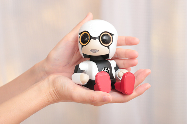 "Toyota Launches Sales of ""Kirobo Mini"" Nationwide"