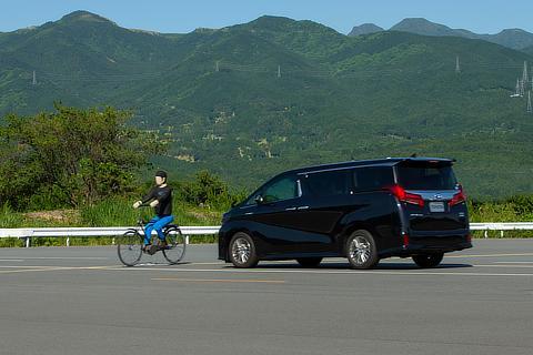 【昼】対自転車運転者プリクラッシュセーフティ(PCS)
