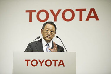 Toyota President and CEO Akio Toyoda