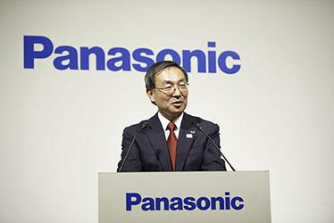 Panasonic President and CEO Kazuhiro Tsuga