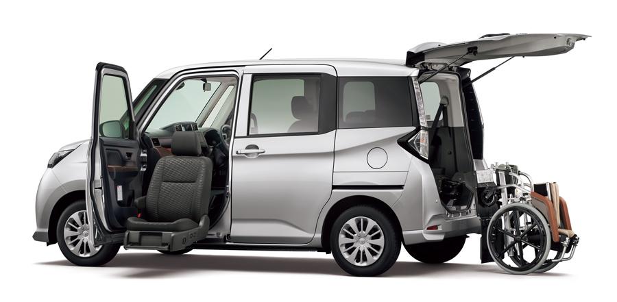 """タンク ウェルキャブ 助手席リフトアップシート車""""Bタイプ""""(ベース車両 : X""""S""""2WD)<オプション装着車>"""