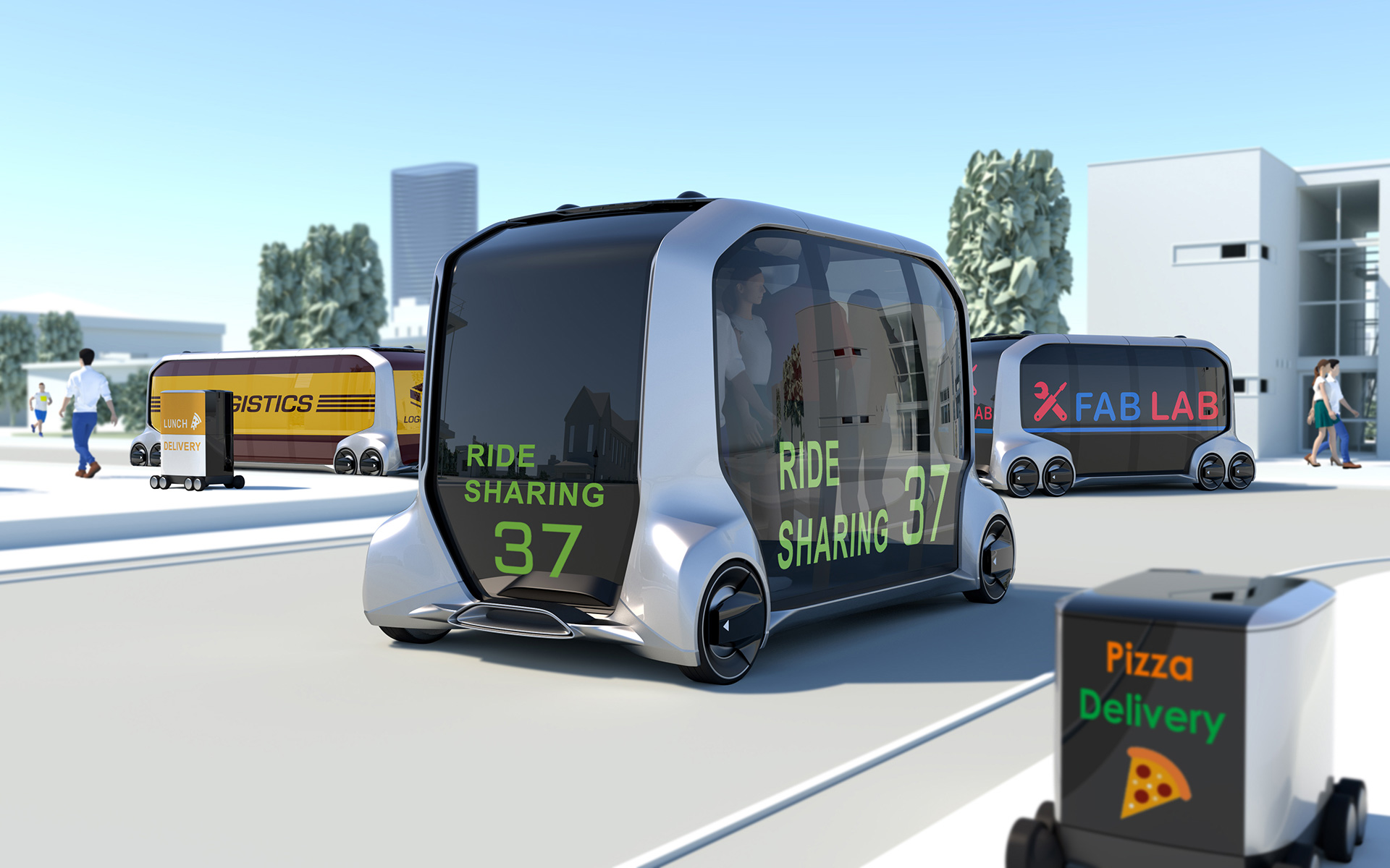 Toyota Launches New Mobility Ecosystem and Concept Vehicle