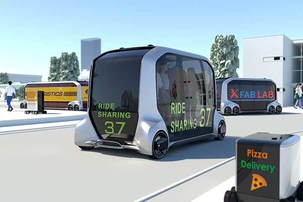 Toyota Launches New Mobility Ecosystem and Concept Vehicle at 2018 CES®