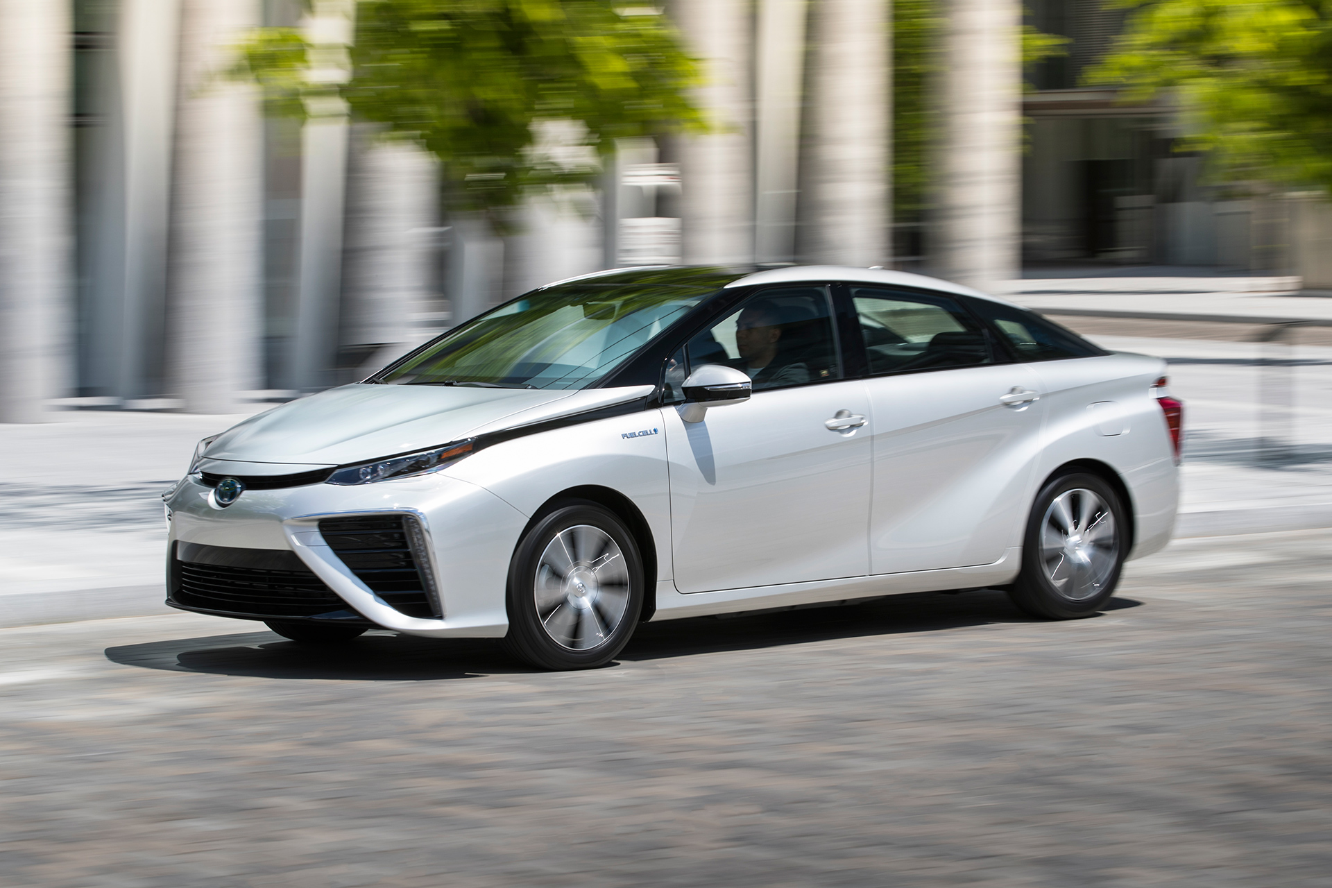The Toyota Mirai Fuel Cell Electric Vehicle To Go On This Year In Canada Starting Québec